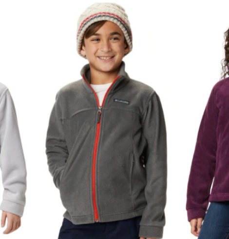 Columbia Fleece Jackets for Kids Only $12 Shipped (Regular $36)!