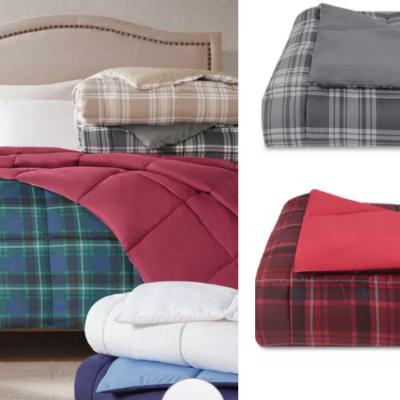 Martha Stewart Down Alternative Comforters Over 80% Off – All Sizes