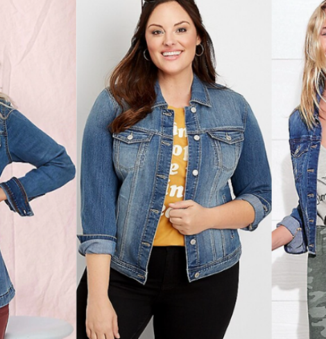Maurices Denim Jackets Only $25 (Regular $49.99) – Sizes XS – 4X