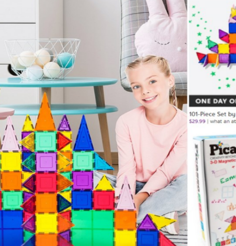 101-Piece Set by PicassoTiles 75% Off – Today Only!