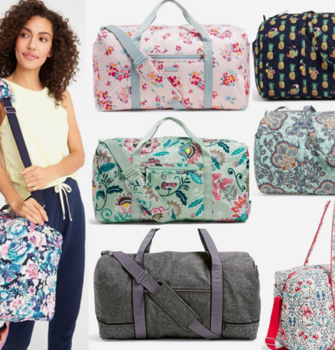 Vera Bradley Large Duffel Bag Only $30 (Regular $100)!