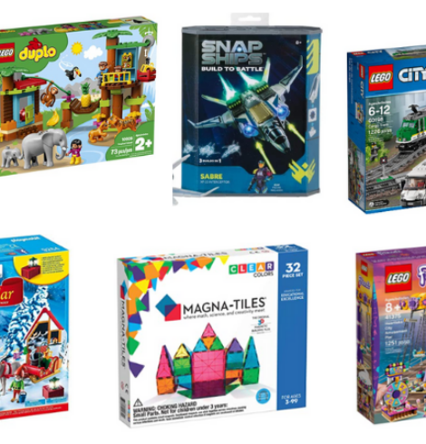 Save Big on LEGO, Magna-Tiles, Playmobil and more – Today Only!