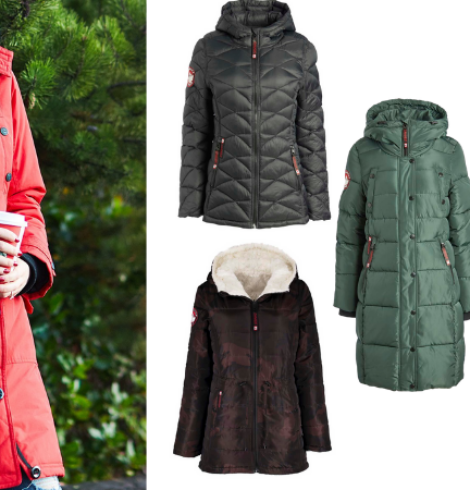 Save up to 70% on Canada Weather Gear Coats!