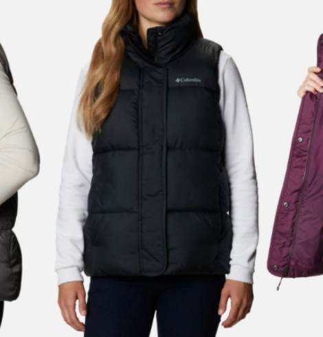 Columbia Women's Pioneer Summit Vest Only $40 (Regular $100)!