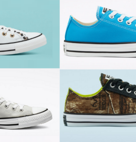 Select Converse Sneakers Only $25 (Regular up to $60)!