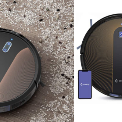 Save on Coredy Robotic Vacuums & Mop System 55% Off Code!
