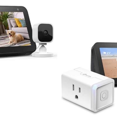 Echo Show 5 with Blink Mini Indoor Smart Security Camera Deal!