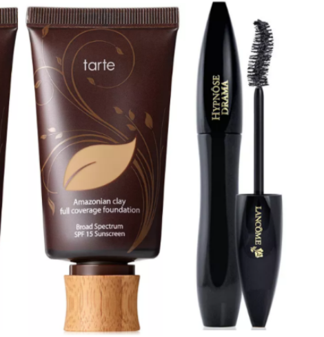 Macy's 10 Days of Glam – 50% Off Tarte Amazonian Clay Foundation + Lancome Hypnose Drama Mascara!