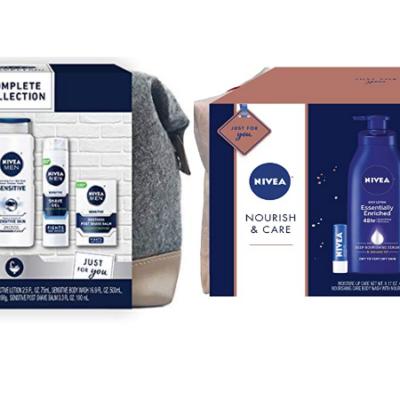 Nivea for Men or Women Gift Sets  – 40% Off Coupons!