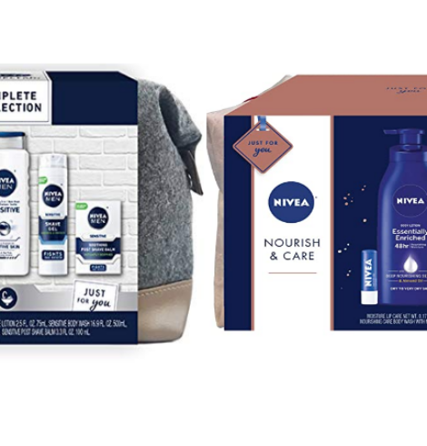 Nivea for Men or Women Gift Sets  – 50% Off Coupons!