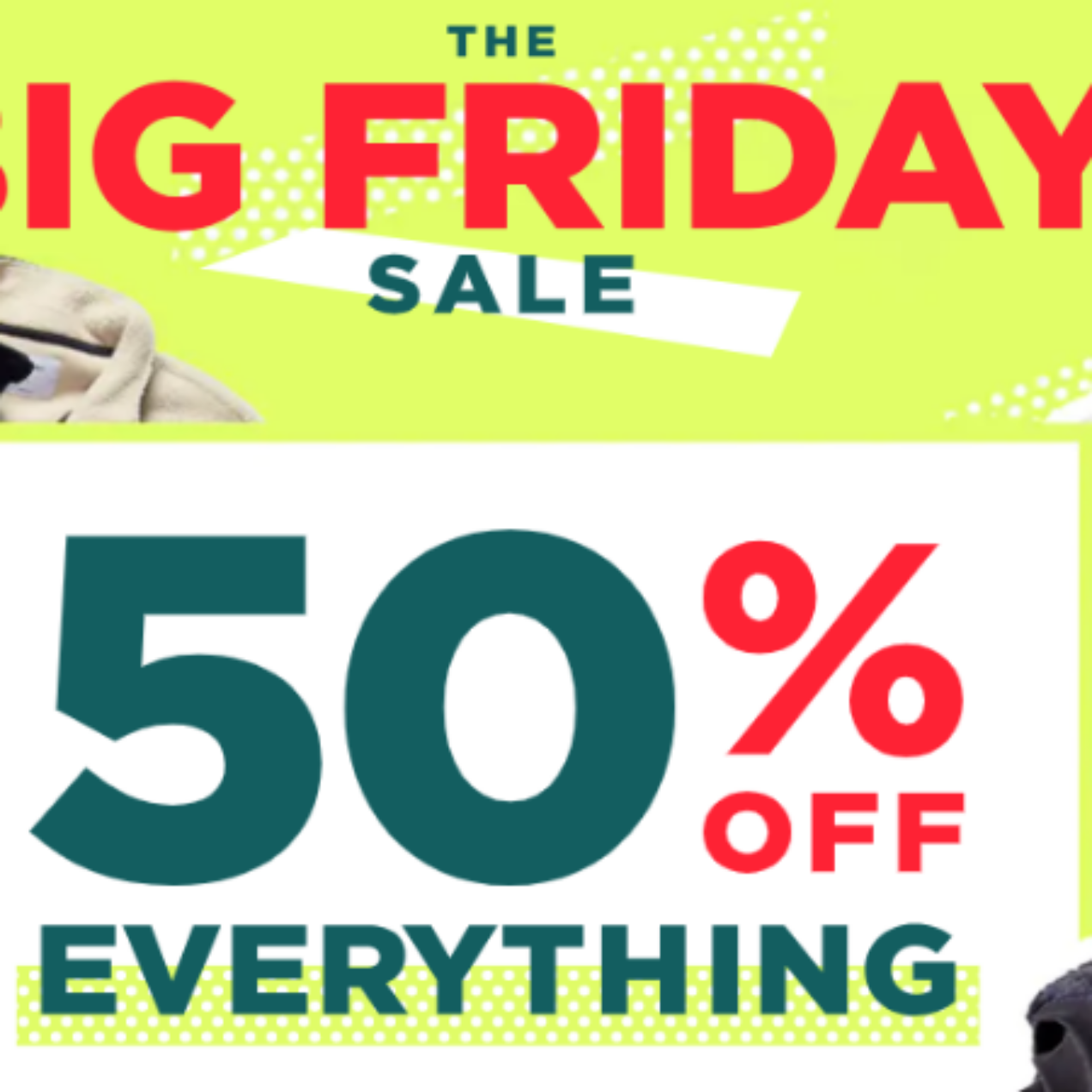 50% Off Old Navy Purchase – Black Friday Sale!