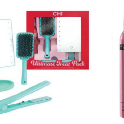 CHI 4-pc Ultimate Treat Set + Free Hot Sexy Hair Spray + Free Candle Only $62.48 Shipped ($170 Value)!