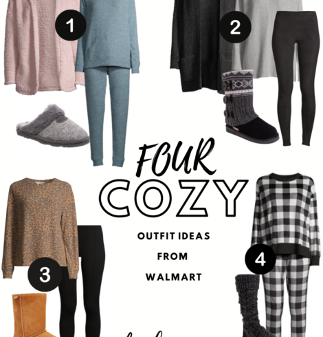 Four Cute, Cozy and Affordable Outfit Ideas from Walmart!