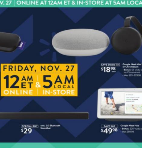 Walmart Black Friday Deals – November 27th!
