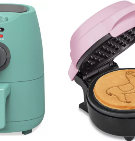 Bella 2-Quart Air Fryer Only $29 – Mini Waffle Maker $6 + More!