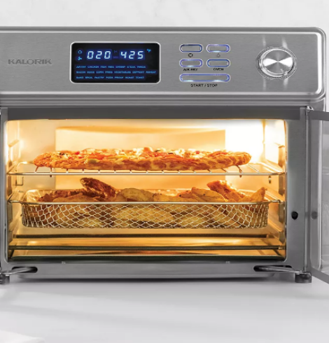 Kalorik 26-qt. Digital MAXX Air Fryer Toaster Only $128 (Regular $279.99) + Earn $20 in Kohl's Cash!