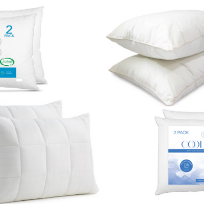 75% Off Two Packs of Pillows at Macy's – Today Only!