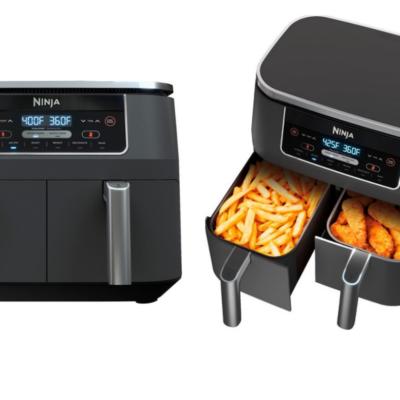 Ninja Foodi 6-in-1 8-qt., 2-Basket Air Fryer Only $130 + Earn $20 in Store Cash!