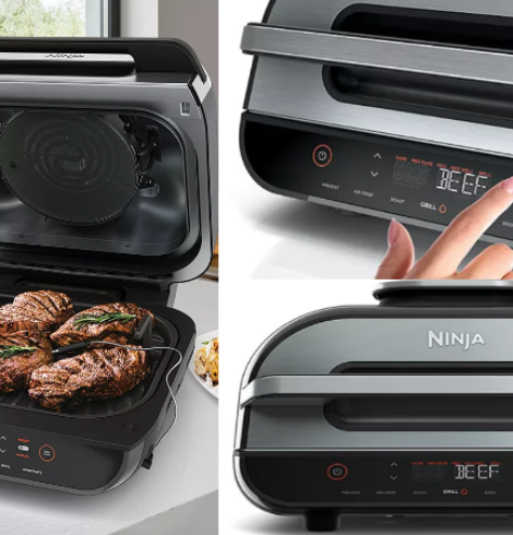 Ninja Foodi 6-in-1 Smart XL Indoor Grill with Air Fryer Only $212 + Earn $40 in Kohl's Cash (Regular $329.99)!