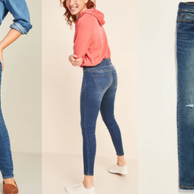 All Old Navy Jeans 50% Off Including Rockstar – Today Only!