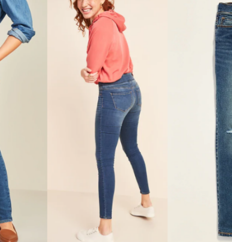 Old Navy Rockstar Jeans for Women and Girls Only $12 – $15 (Regular up to $49.99)!