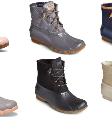 Sperry Boots for Men and Women Only $50 (Regular $119.99)!