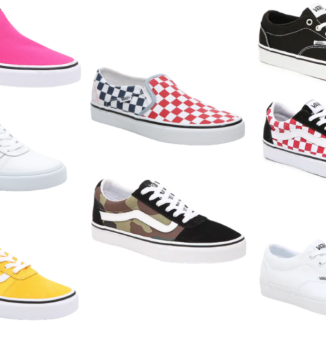 Save up to 40% on Vans for Men, Women and Kids!