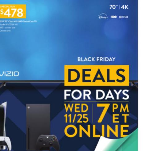 Walmart Black Friday Deals for Days – 12/24!