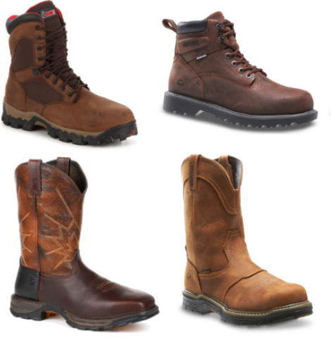 30% Off + Extra 20% Off Name Brand Work Boots – Ariat, Rocky, Carhartt, Wolverine, Justin, Bogs & More!