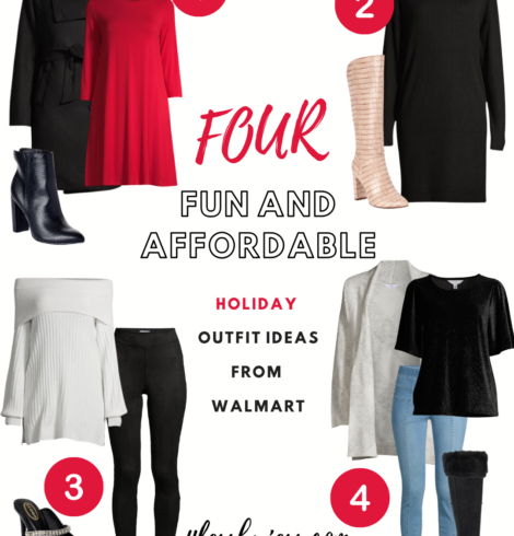 Four Fun and Affordable Holiday Outfits from Walmart!