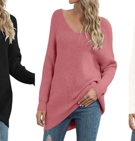 Caracilia Women's Off Shoulder Oversized Sweater – 55% Off Code!