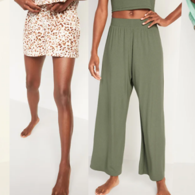 Old Navy Pajama Bottoms Only $8 – $10 (Regular up to $29.99) – Today Only!