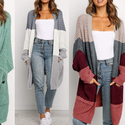 Slouchy Knit Cardigan 30% Off Code!