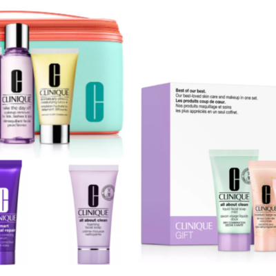 Over $230 in Clinique Products Only $40.50 Shipped!