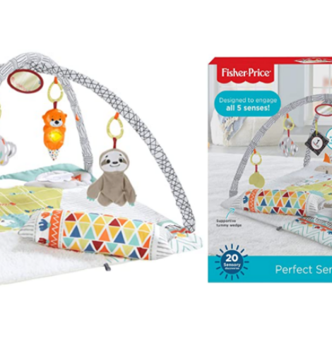 Fisher-Price Perfect Sense Deluxe Gym Deal!
