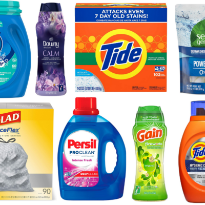 Amazon: Spend $50 on Participating Household Products and Save $15!