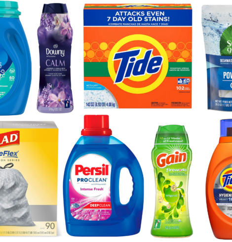 Amazon: Buy 3 Participating Household Products and Save $10!