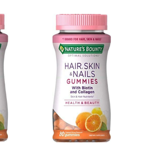 Nature's Bounty Hair, Skin & Nails with Biotin and Collagen – Deal!