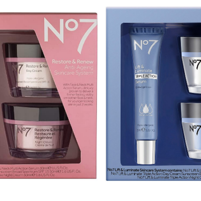 No7 Skincare Systems Only $43.67!