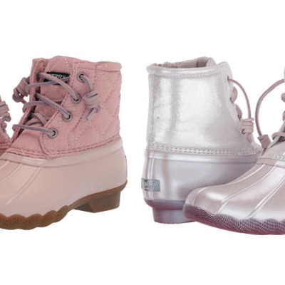 Sperry Girls Saltwater Duck Boots Only $40!