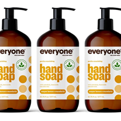 Everyone Hand Soap: Meyer Lemon and Mandarin 3 Count Deal!