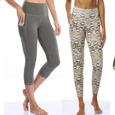 Oalka Workout Leggings and Joggers!