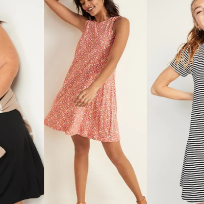 Old Navy Swing Dresses for Women Only $5 – $11 Today Only!