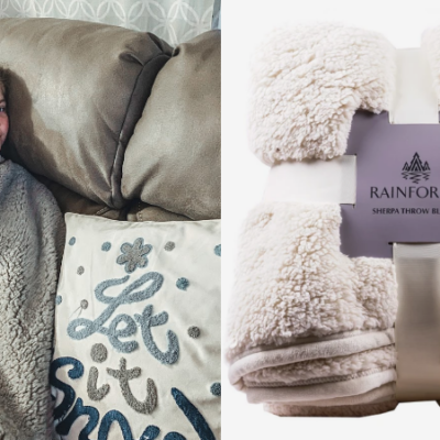 Rainforest Sherpa 2-Ply Throw Blankets Only $19.99 (Regular $39)!