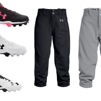 Under Armour Youth Baseball Cleats Only $20 – Girls' Softball Only $10.19 + More!