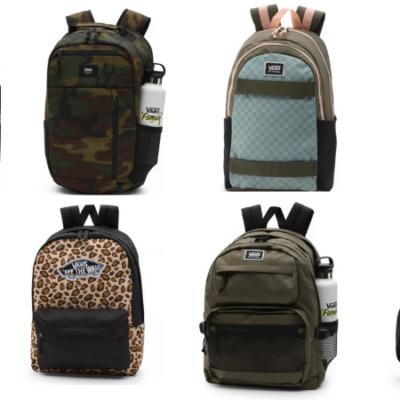 Vans Backpacks Only $19.95 Shipped (Regular $36 – $85)!