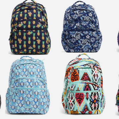 Hot Deals on Vera Bradley Backpacks, Lunch Bags and More!