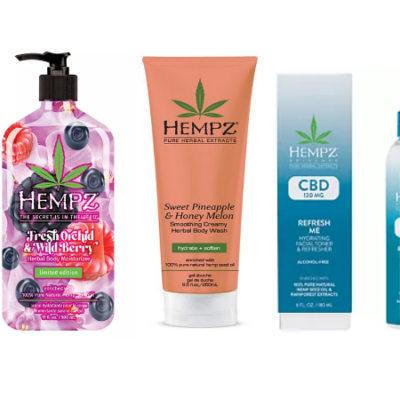 50% Off Hempz Natural Herbal Body Moisturizers, Hair Care, Body Wash & More!