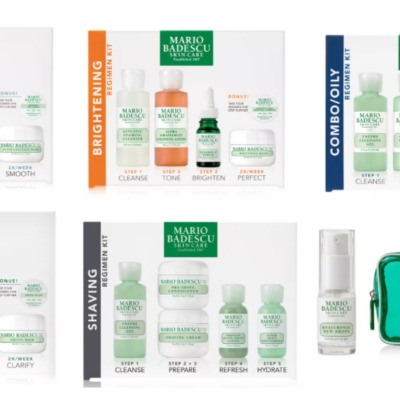 Select Mario Badescu Sets Only $22.50 (Valued at $40) + Free Gift Offer Today Only!