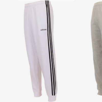 adidas Men's Fleece Joggers 3 for $60 (regular $50 each)!